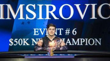 Ali Imsirovic wins $799,000 Poker Masters