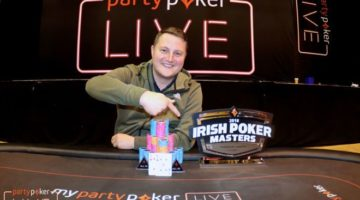 Colin Gillon wins €175k Irish Poker Masters