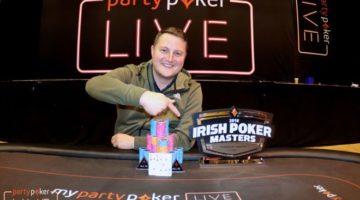 Colin Gillon wins €175k Irish Poker Masters